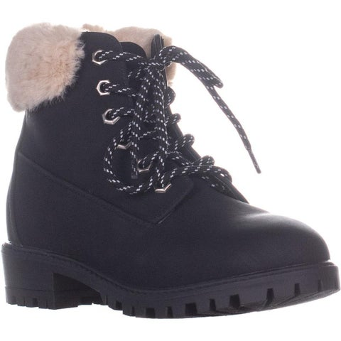 madden girl Frannkie Ankle Boots, Black Pari
