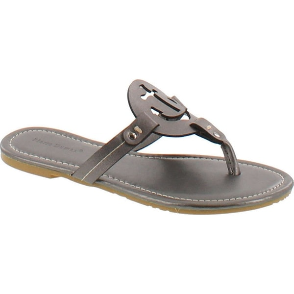 Pierre Dumas Women's Lily Ornament Synthetic Sandals