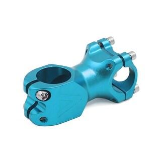 25.4mm Fixed Gear Bicycle Road MTB Bike Aluminum Alloy Handlebar Stem Riser Blue