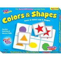 Trend Enterprises Colors and Shapes Match Me Game