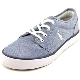 Polo Ralph Lauren Jeethan Round Toe Canvas Sneakers