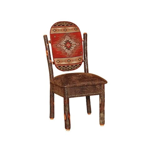 Hickory Log Western Dining Chair