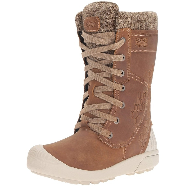 f0f7bb31c2df Shop KEEN Women s Fremont Lace Tall Waterproof Shoe - 5.5 - Free Shipping  On Orders Over  45 - Overstock - 23503211