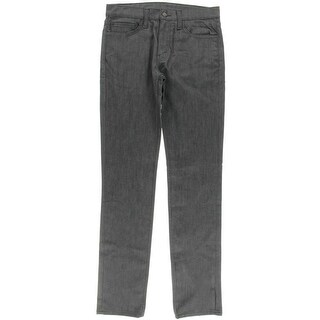 Levi Strauss & Co. Mens 511 Gray Wash Low RIse Slim Jeans - 32/36