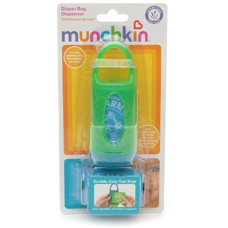 Munchkin Arm Hammer Diaper Bag Dispenser With Bags Lavender Scent Colors May