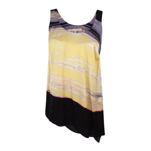 051da0dc21 Shop RACHEL Rachel Roy Women s Plus Size Asymmetrical Tank Top - dark gray  multi - Free Shipping On Orders Over  45 - Overstock.com - 17019290