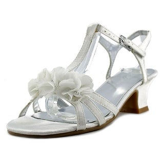 Kenneth Cole Reaction Starlight Crystal Open Toe Canvas Sandals