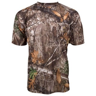 King S Camo Hunter Series Short Sleeve Tee Shirt Realtree Edge Large