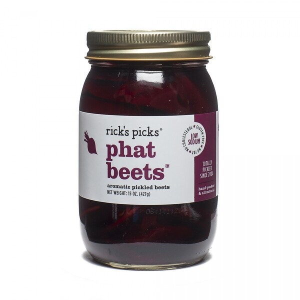 Rick's Picks Phat Beets Pickles - Case of 6 - 15 oz.