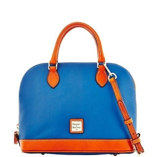Dooney & Bourke Pebble Grain Zip Zip Satchel (Introduced by Dooney & Bourke at $198 in Jul 2014) - jeans