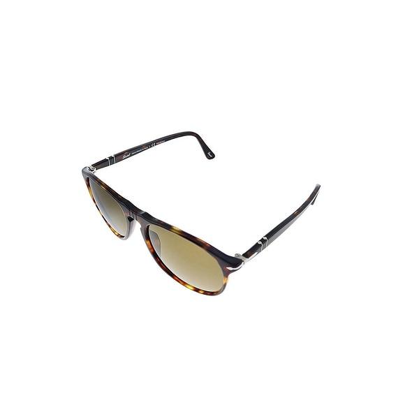 Persol PO 9649S 24/57 55mm Unisex Havana Frame 0 Sunglasses. Opens flyout.