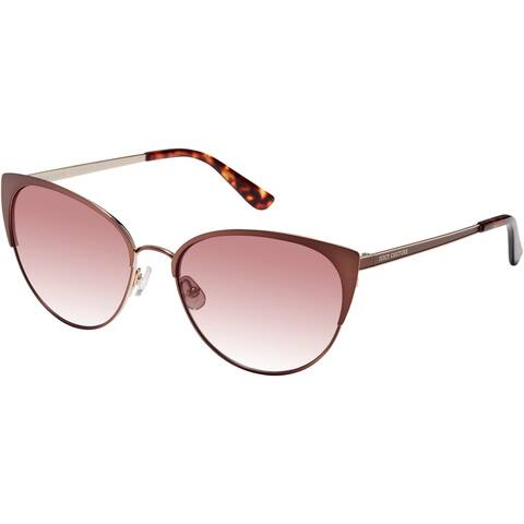 JUICY COUTURE JU612GS 04IN 57 MTT BROWN FEMALE ADULT CAT EYE/BUTTERFLY Sungasses