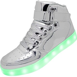 Link to APTESOL Kids Youth LED Light Up Sneakers Boys Girls High Tops Cool Flashing S... Similar Items in Girls' Shoes