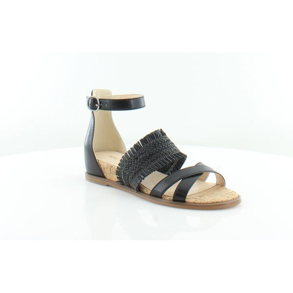 Nine West Vernell Women's Sandals Black - 5.5