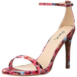 Qupid Womens Grammy 01 Evening Pumps Dress Sandals