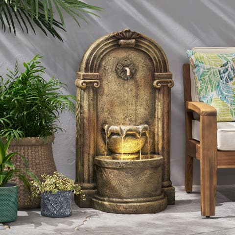 Frontage Outdoor Tier Single Spout Fountain Outdoor 2 by Christopher Knight Home