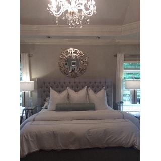 Echelon Home Three Line Hotel Collection Cotton Sateen 3-piece Duvet Cover Set