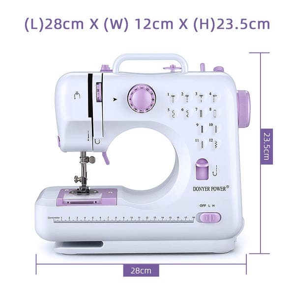 Mini Sewing Machine,Portable Sewing Machine with Dual Speed Double ...