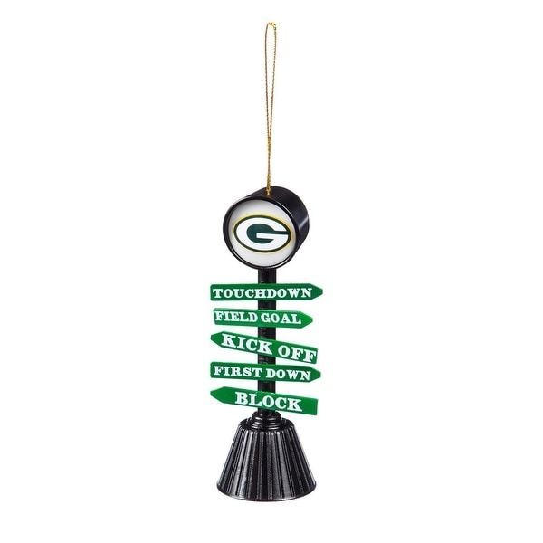 Green Bay Packers Fan Crossing Ornament