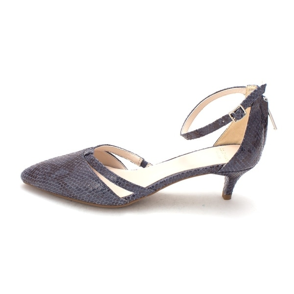 Cole Haan Womens 14A4020 Rubber Pointed Toe Ankle Strap D-orsay Pumps