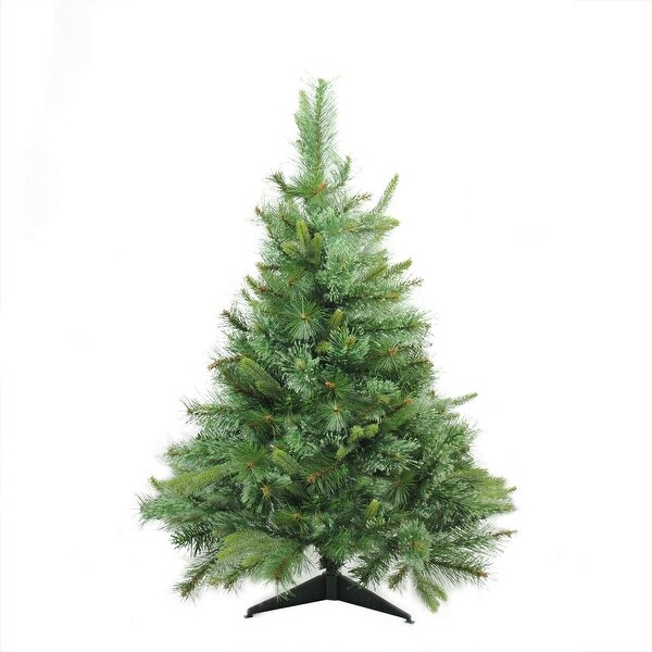 "3' x 29"" Cashmere Mixed Pine Full Artificial Christmas Tree - Unlit"