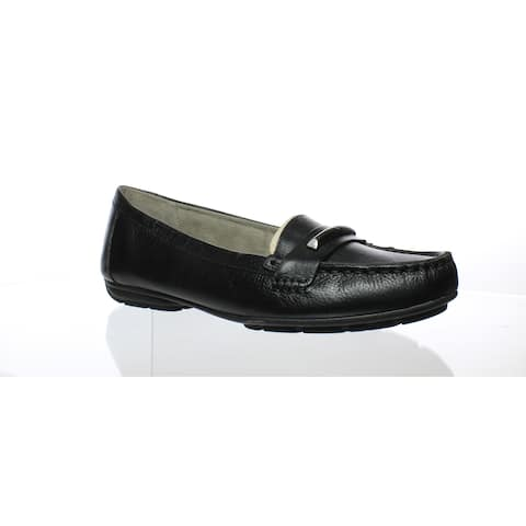 Naturalizer Womens Kamille Black Loafers Size 9.5