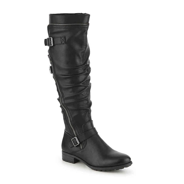 White Mountain Womens Remi Round Toe Knee High Fashion Boots. Opens flyout.