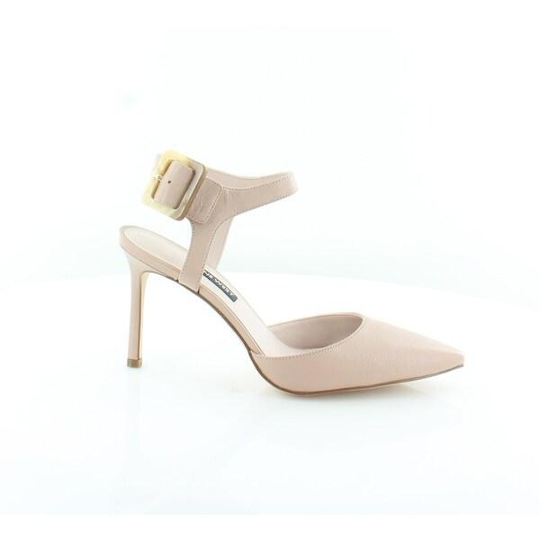 a63fe8b5681 Shop Nine West Elisabeti Women s Heels Lt. Natural - 8 - Free ...