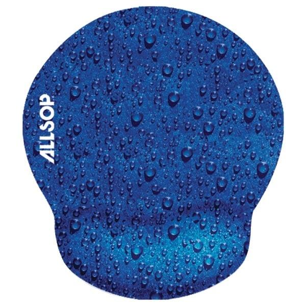 ALLSOP 28822 Raindrop Blue Mouse Pad Pro