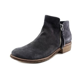 Dolce Vita Sutton Women Round Toe Suede Gray Ankle Boot