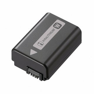 Sony Lithium W-Series Rechargeable Battery Pack for Alpha Nex Cameras - Black