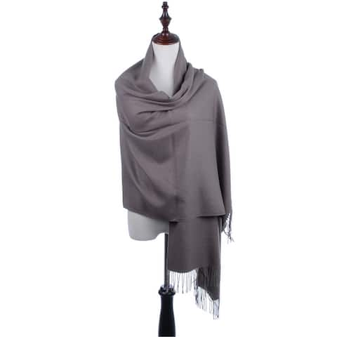BYOS Oversized Soft Cashmere Feel Shawl Scarf Wrap Blanket