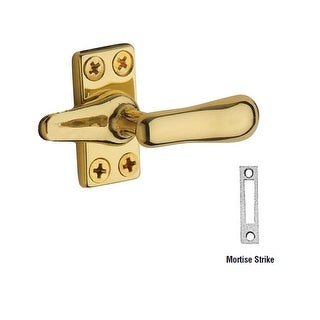 Baldwin 493 Solid Brass Heavy Duty Casement Fastener with Mortise Strike (More options available)