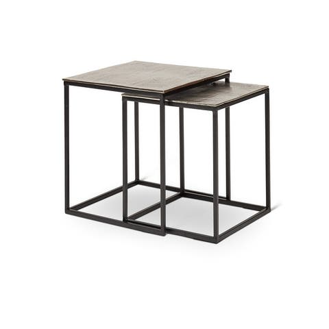 """Abner Nesting End Table - 18"""" x 18"""" x 18"""" Tall"""