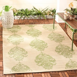 Safavieh Courtyard Inell Boho Indoor/ Outdoor Rug
