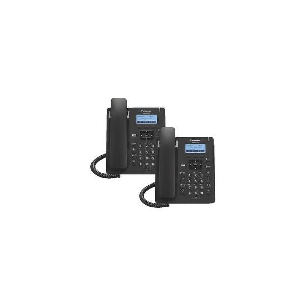 Panasonic KXHDV130B (2-Pack) KX-HDV130 Executive SIP Phone