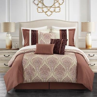 Gracewood Hollow Hosseini 11-piece Reversible Bed-in-a-Bag Comforter Set
