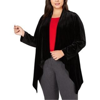 Link to Calvin Klein Womens Flyaway Jacket, black, 2X Similar Items in Women's Outerwear