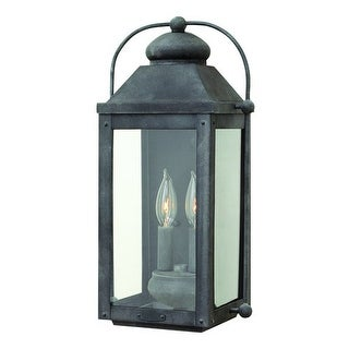Hinkley Lighting 1854 2 Light Outdoor Wall Sconce From the Anchorage Collection