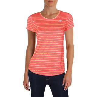 New Balance Womens T-Shirt Yoga Fitness