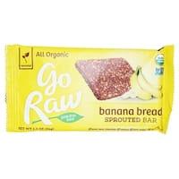 Go Raw Bread - Banana - Case of 30 - 1.2 oz.
