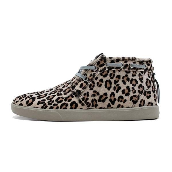 Diamond Supply Co Men's Jasper Snow Leopard Mid Boot Chukkas Z14-F107