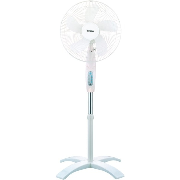 """OPTIMUS F-1760 16"""" Wave Oscillating Stand Fan (With Remote)"""