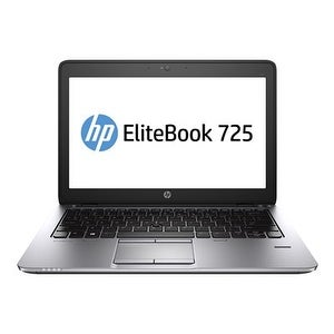 "HP P0B93UT#ABA HP EliteBook 725 G2 12.5"" Touchscreen Notebook - AMD A-Series A10 Pro-7350B Quad-core (4 Core) 2.10 GHz -"