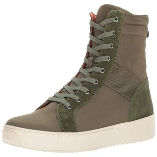 J Slides Mens shane Canvas Closed Toe Ankle Military Boots - 8