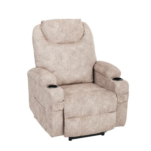 Power Lift Recliner Chair With Cup Holders