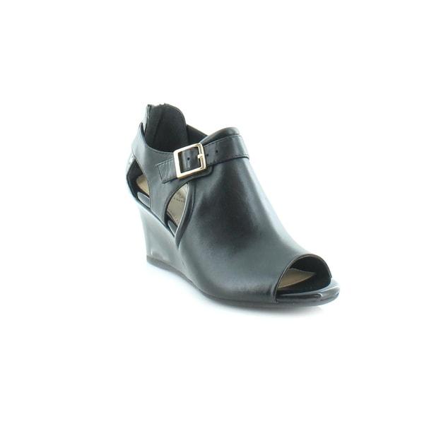 Giani Bernini Alyssaa Women's Sandals & Flip Flops Black - 6.5