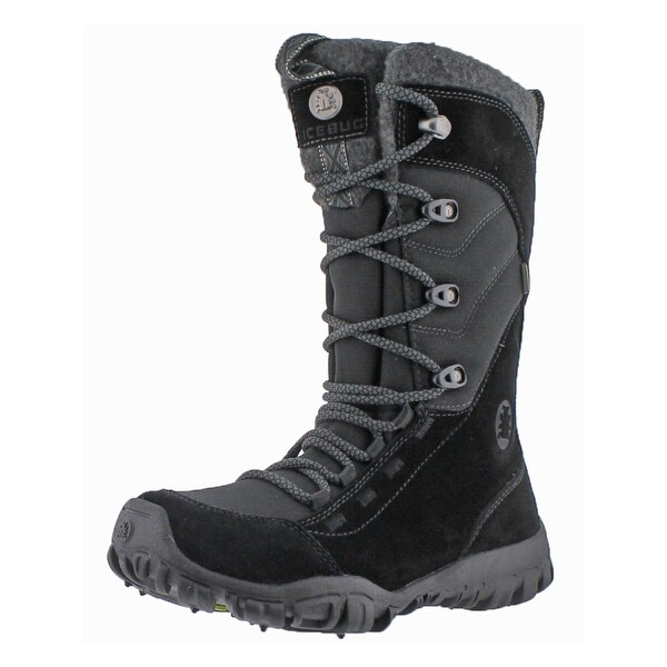 Icebug Womens Diana BUGsole Winter Boots Suede Mid-Calf