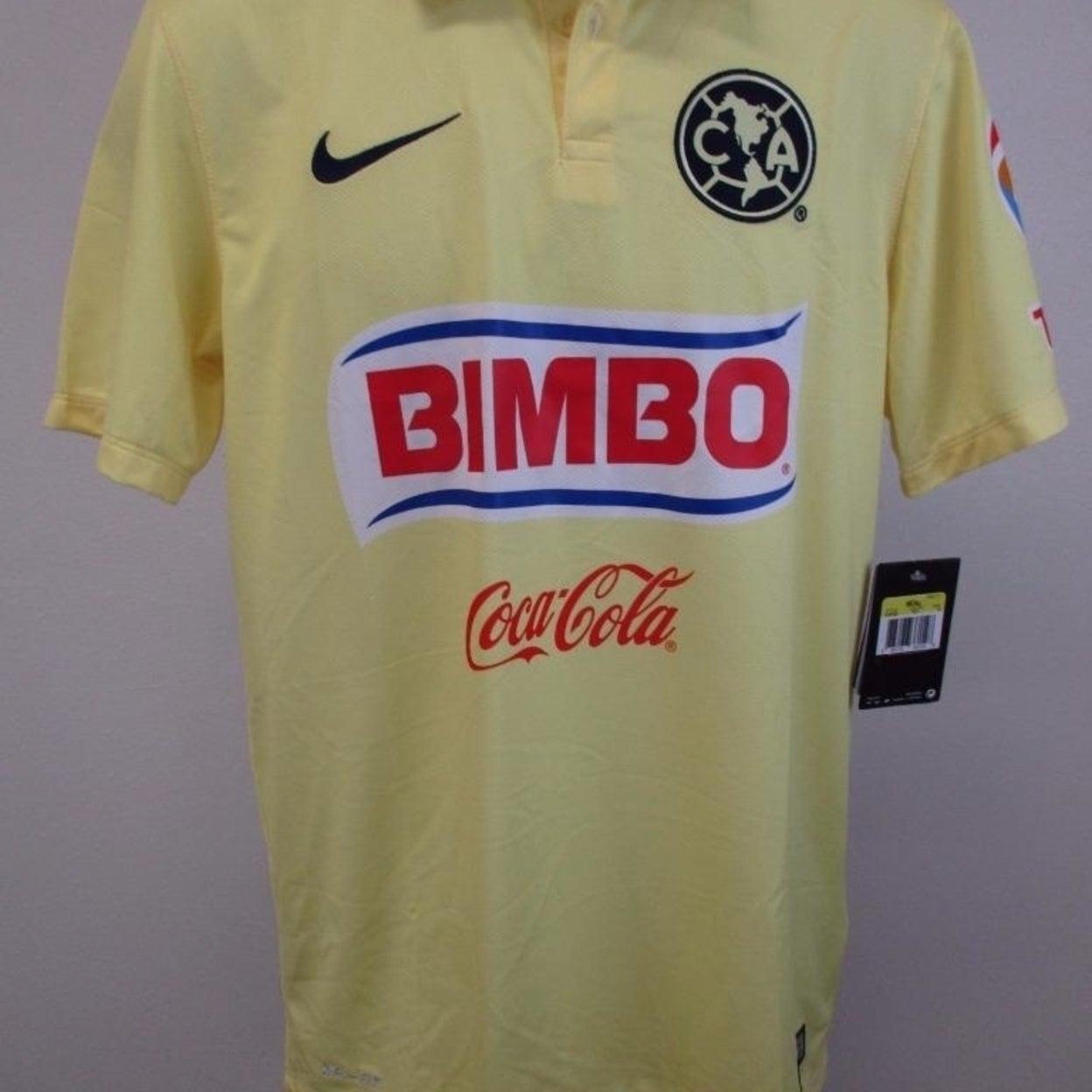 Club America Bimbo Corona Mens Size S Small Nike 2013 Dri Fit Jersey 90 Overstock 23065057