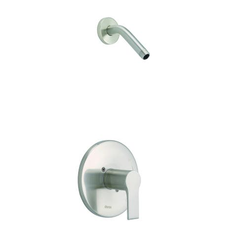 South Shore 1H Shower Only Trim Kit & Treysta Cartridge Less Showerhead Brushed Nickel